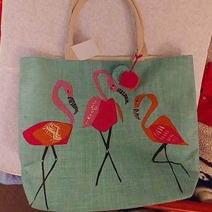 Handbags - Flamingo tote